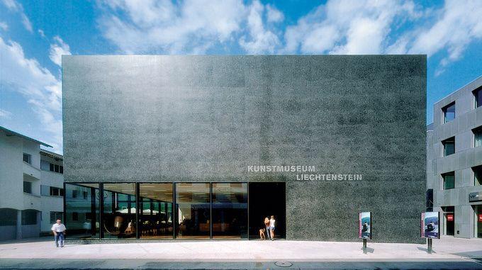 Liechtenstein Museum of Fine Arts Meinrad Morger, Heinrich Degelo and Christian Kerezblack Architects