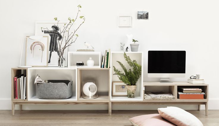 Muuto Stacked TV Kombination