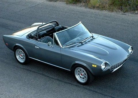 1979 Fiat Spider. Why Did I Sell That Car!! Oh Yeah, It