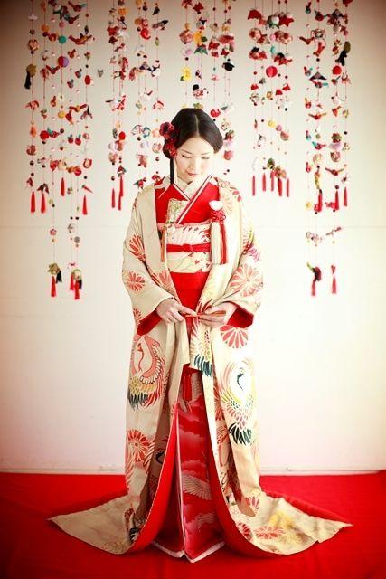 アンティーク着物☆色打掛と引振袖の2Way | Simply Red(シンプリーレッド)