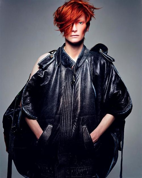 rockinnrollin:  Tilda Swinton by Craig McDean For Vogue Italia September 2003