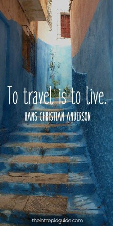 Hans Christian Anderson Travel Quotes Inspiring Quotes About