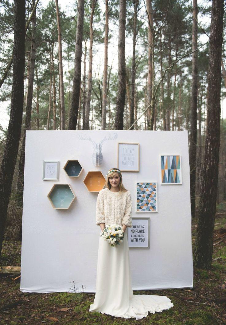 Una boda escandinava - All Lovely Party