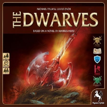 The Dwarves Base Game Based on the first novel of the Die Zwerge tetralogy Eng The Dwarves by author Markus Heitz the goal of the cooperative game Die Zwerge is to keep evil from flooding Girdlegard During set-up players c http://www.MightGet.com/march-2017-2/the-dwarves-base-game.asp