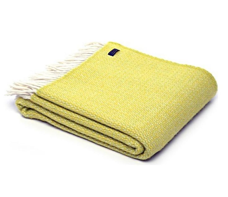 WINDMILL WOOL BLANKET - CITRUS ZEST TWEEDMILL THROW This is one of our favourite designs which has a beautiful windmill design woven into it but you