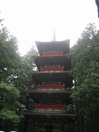 Five-story tower - Nikko(2008)