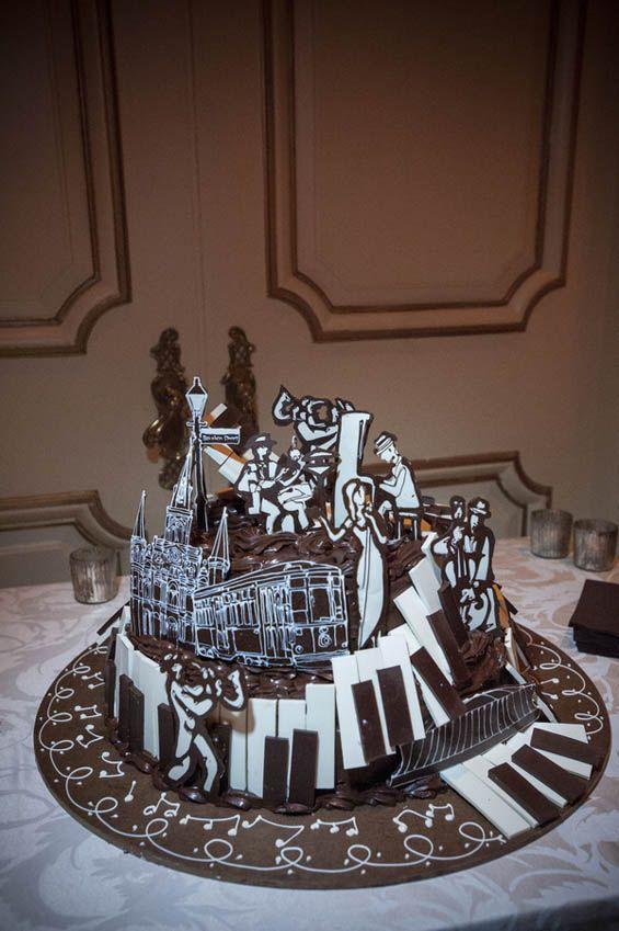 95 best New Orleans themed cakes images on Pinterest Cake art