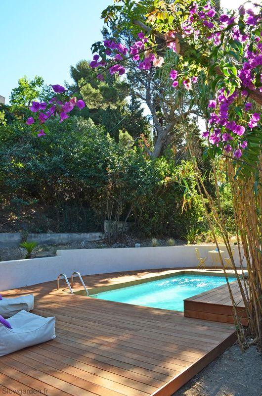 1000 id es propos de piscine bois sur pinterest for Piscine hors sol petite taille