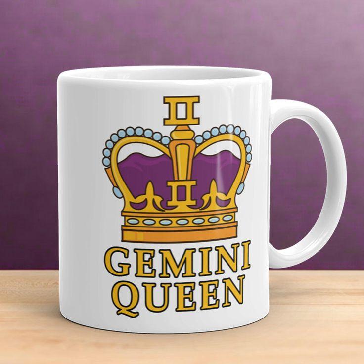Gemini Mug, Gemini Star Sign, Astrology Mug, Gift for Her, Gemini Gift, Gemini Queen, May Birthday, Zodiac Mug, Zodiac Gift, June Gift by LoveLuniq on Etsy
