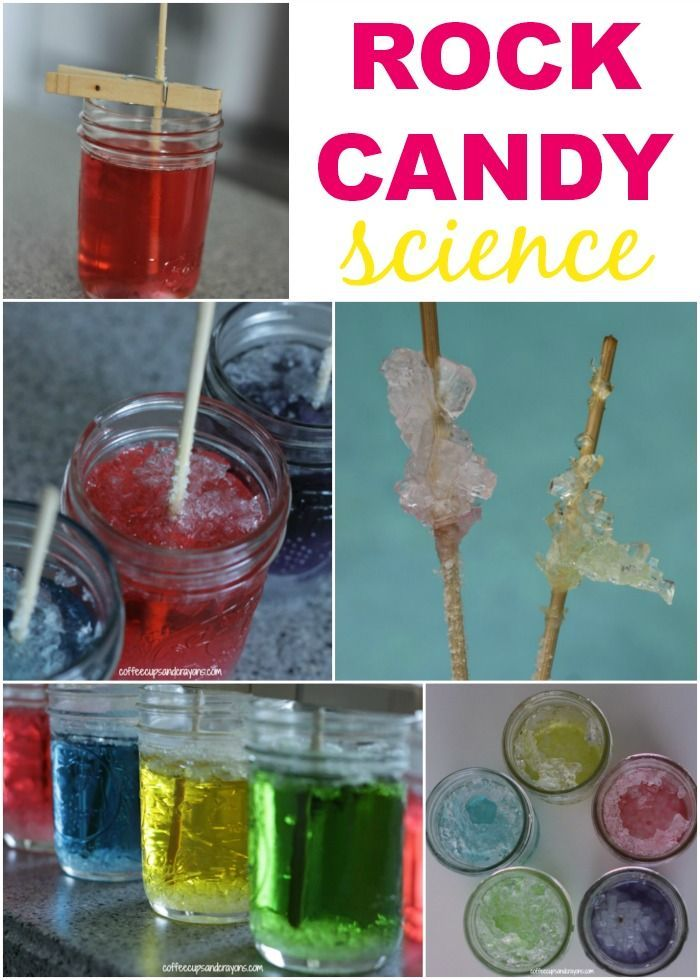 Candy and science...Check out this sweet experiment for Kids! via Coffee Cups and Crayons #DIY #STEM