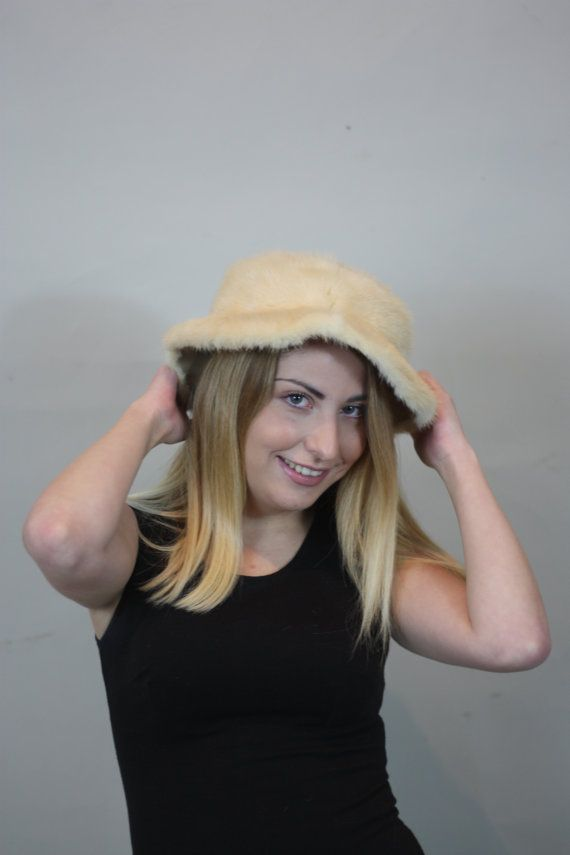 Luxury gift/ Beaver Fur Hat Women's/wedding or by skffurs on Etsy