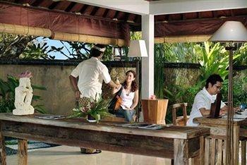 Traditional place at Rama beach resort and Villa Bali