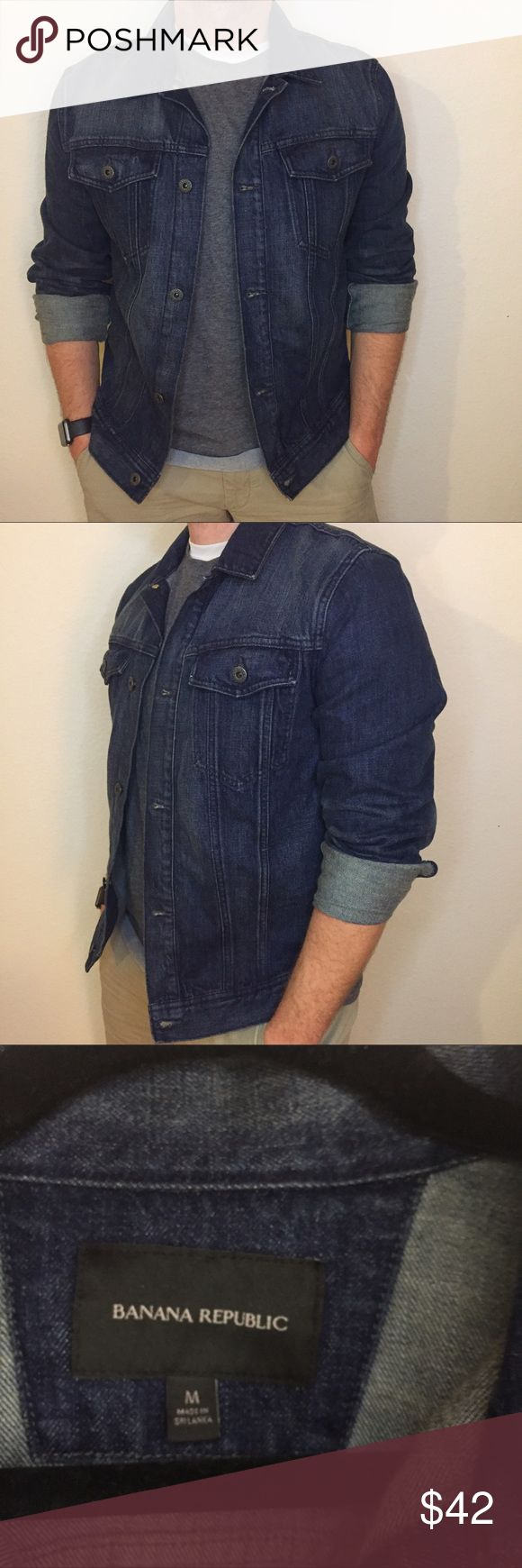 Banana Republic Denim Jacket. Banana Republic Denim Jacket. Like new. Has a good vintage look. They always say Denim never goes out of style. Banana Republic Jackets & Coats