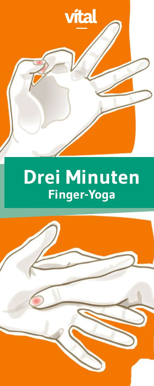 Übungen: Finger-Yoga