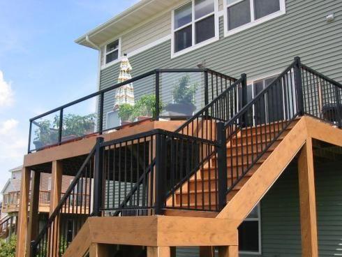 metal deck railing kits uk ideas systems