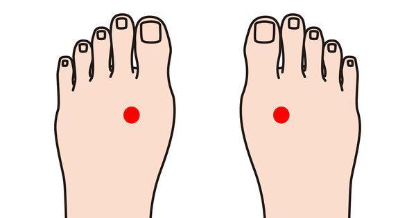 Tryk på dette punkt på foden – du bliver overrasket over, hvad det gør ved kroppen