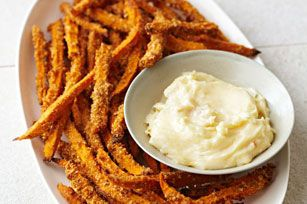 Crunchy Sweet Potato Fries
