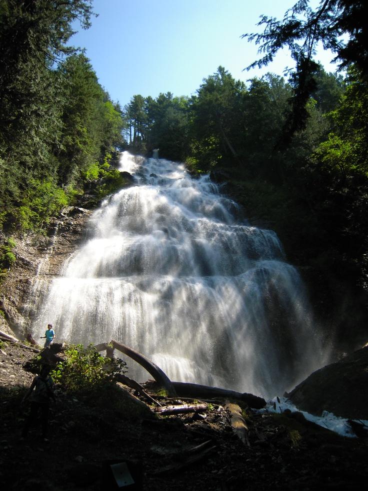 Bridal Veil Falls, Chilliwack B.C. (Photo by Aryan Baines)