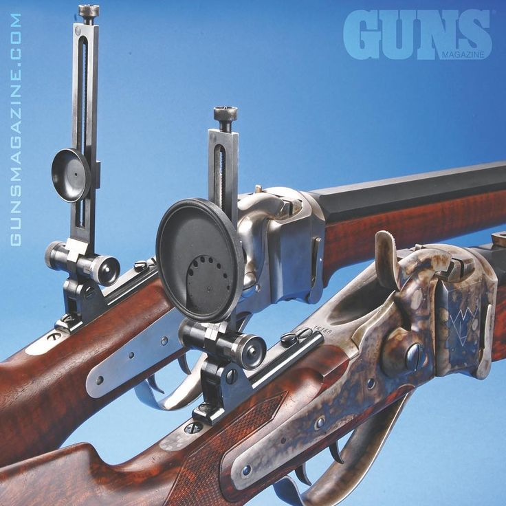 Buffalo busters. A pair of Shiloh Sharps -- the Old West's iconic Model 1874. Both of these have Montana Vintage Arms' Soule-style iron sights. From the July 2017 issue of GUNS Magazine available @gunsmagazine.com ---------- #shiloh #buffalobuster #2a #madeinamerica #righttobeararms #igmilitia #twofertuesday #sharpshooter #model1874 #blackpowder