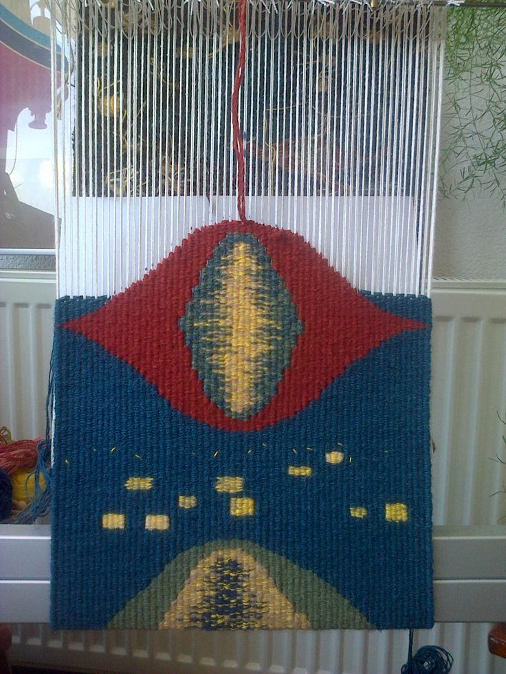Tapestry swatch - work in process - study for Urban night