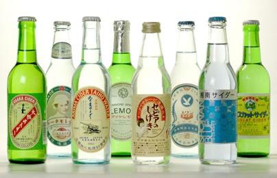 local soda いろんなとこの地サイダー 昭和レトロ