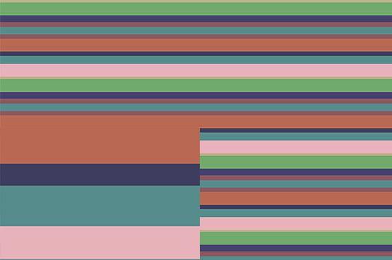 Horizontal stripes 182-02  Wallpaper by Scandiwall Designer: Linda Persson www.scandiwall.se