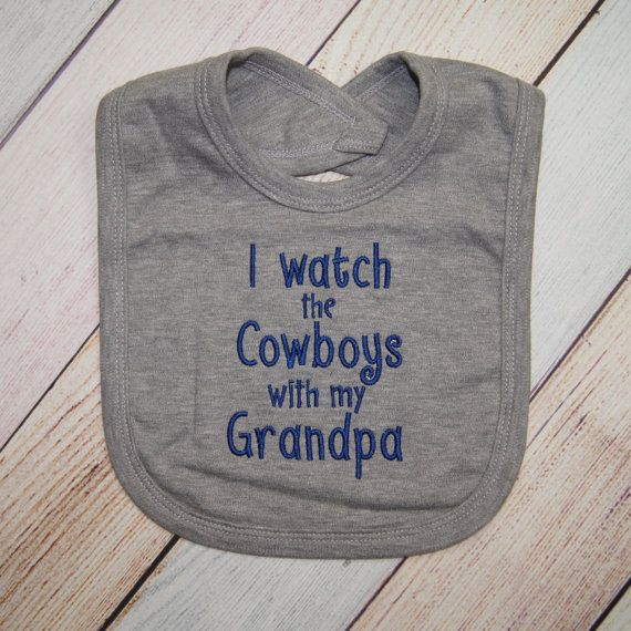 Dallas Cowboys Baby Bib Dallas Cowboys by CharleyJosCreations