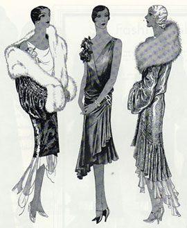 ~~~some of those flapper styles are too ugly to bear~~~Abiti Antichi - Storia della Moda 1923-1930