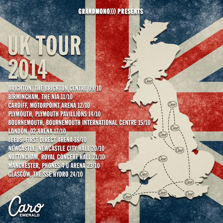 UK get ready! I'm coming over in October!! Check the dates and cities for a show near you! I Can't wait to see you all!!  http://bit.ly/CaroUKTour2014