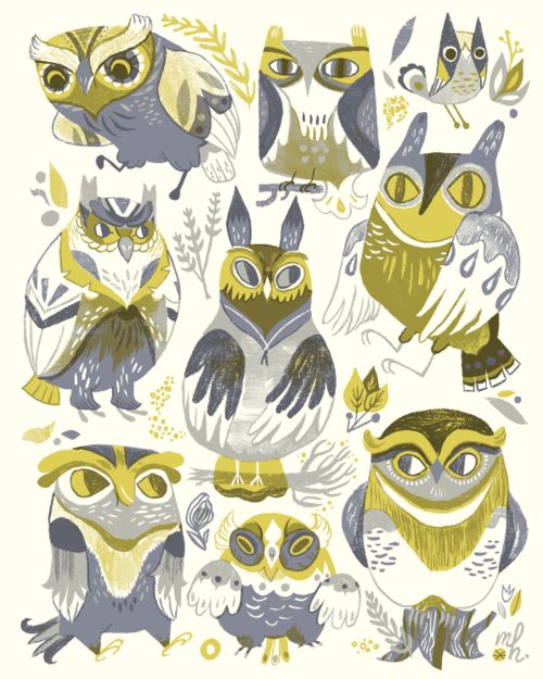 Illustration Friday :: Interview with Meg Hunt