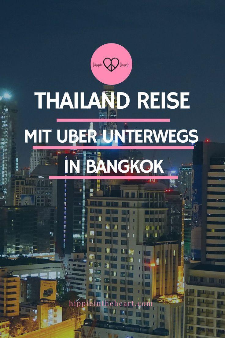Reisen in Thailand - Mit Uber unterwegs in Bangkok, so nutzt du Uber auf deiner Thailand. Tipps für deine Thailand Backpacking Reise. #Backpacking #backpackinginthailand #thailand #reisen #bangkok #asien #travel #uber