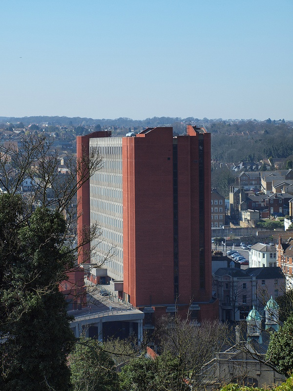 The Pentagon centre in Chatham town centre by Simon Bolton UK, via Flickr
