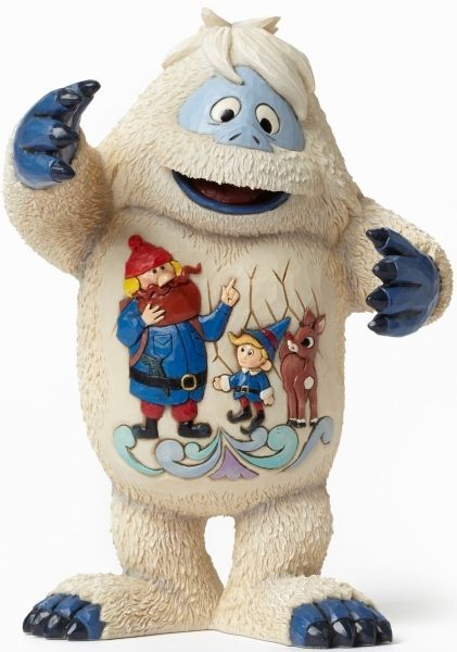 Rudolph Traditions by Jim Shore BUMBLE WITH YUKON SCENE Figurine Yeti
