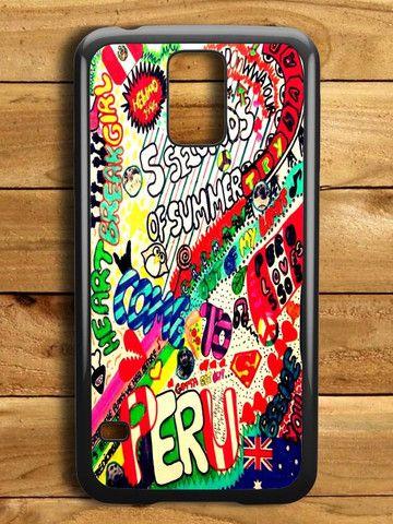 5 Sos Art Color Samsung Galaxy S5 Case