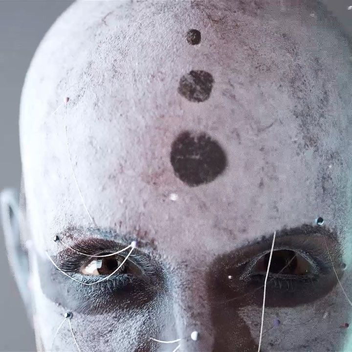 """607 Likes, 26 Comments - FutureDeluxe (@futuredeluxe) on Instagram: """"Thousand Yard Stare. Proof of concept #cg #face #octane #houdini #animation #eyes #maxon #sidefx…"""""""