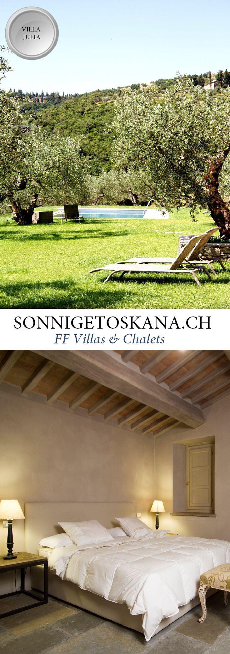 Ferienhaus Ferienvilla Villa Julia || www.sonnigetoskana.ch || Italien - Toskana || 2 Schlafzimmer…