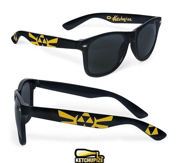 Legend of Zelda sunglasses  custom Wayfarer by ketchupize on Etsy, €27.00