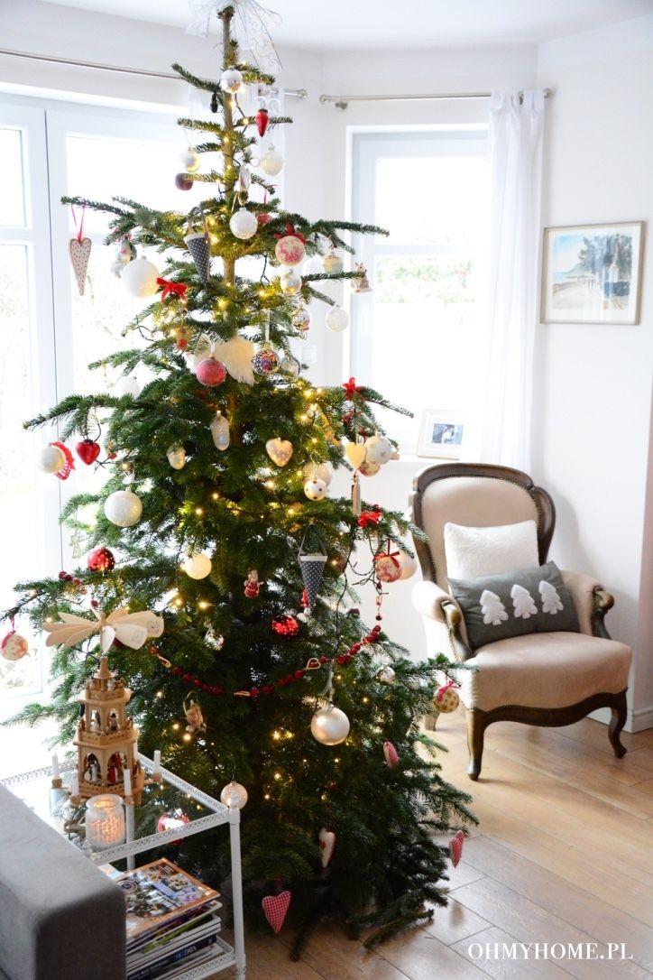 Christmas tree in our home http://oh-my-home.blogspot.com/2015/12/migawki-z-swiatecznego-domu.html