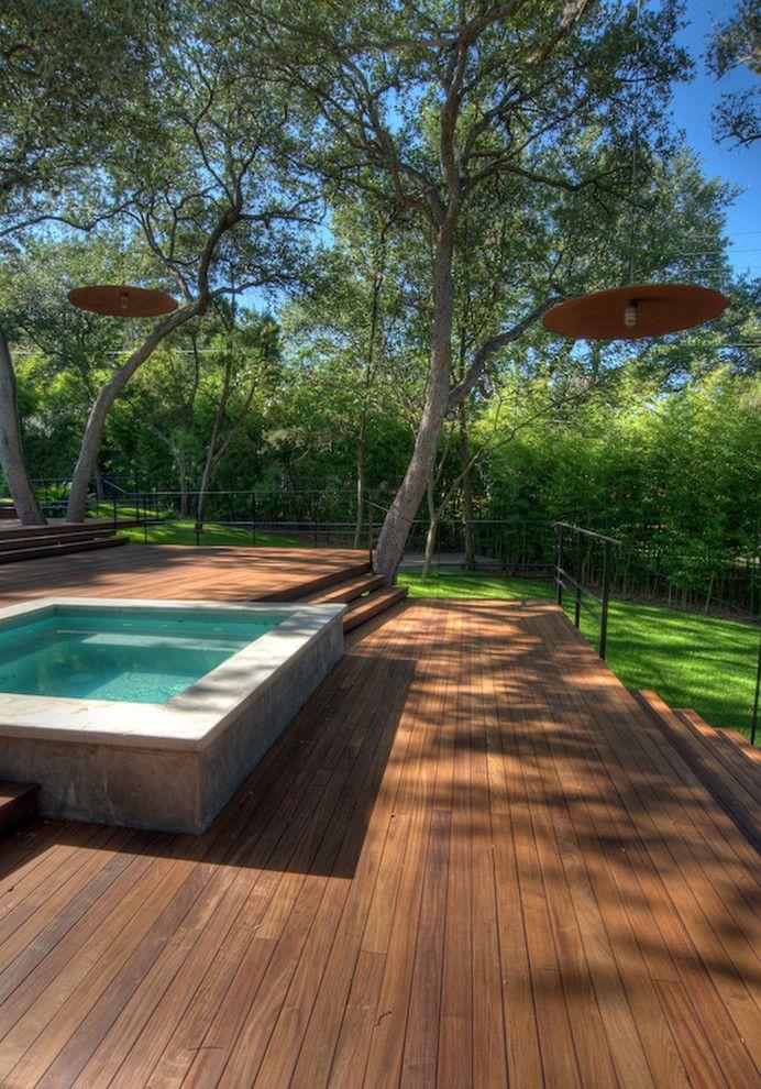 Best 25 Hot Tubs Landscaping Ideas On Pinterest Hot