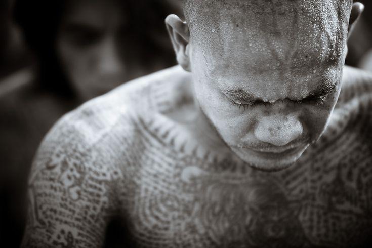 Gavin Gough, Wai Khru Tattoo Festival, Wat Bang Phra