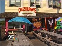 Caseville Cheeseburger Festival...everyone needs to experience it at least once.