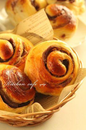 「くるくるキノコあんぱん」uzukaji   お菓子・パンのレシピや作り方【corecle*コレクル】