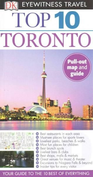 DK Eyewitness Travel Guide: Top 10 Toronto is your pocket guide to the very best of the city of Toronto. Whether you're on the hunt for the best restaurants, the loveliest parks and beaches, or activi