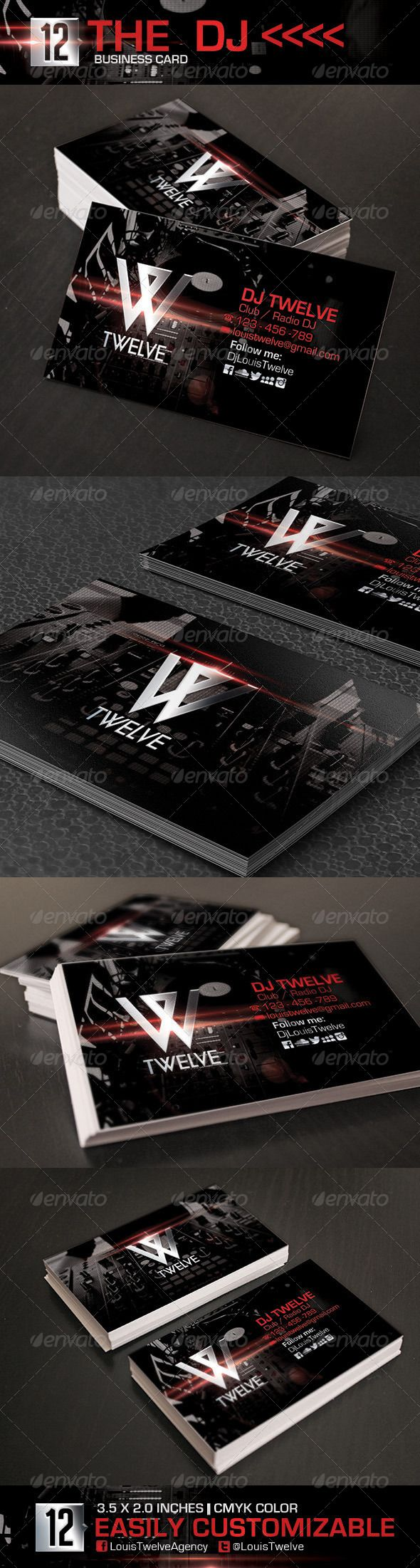 Djj business link agcguru info - The Dj Business Card