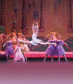 California Ballet's Nutcracker with Cassandra Lund as Dewdrop.