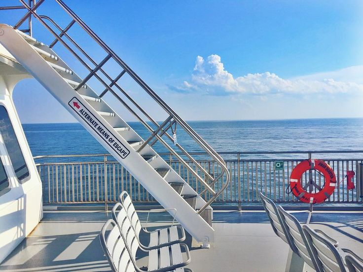 ⚓️ • alternate means of escape • . . . . #ferry #nc #coast #sound #water #wave #ocean #sea #salty #jump #ship #boat #escape #go #travel #adventure #hunt #exploretocreate #explore #ockracoke #island #life #cheers #takemeback #dream http://misstagram.com/ipost/1556564828221347942/?code=BWaB3bYABhm