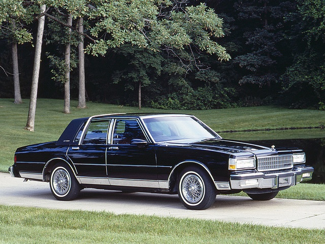 1987 Caprice Classic, I had a silver blue 1987 Caprice. Very smooth ride and great acceleration. Wish they still made these!