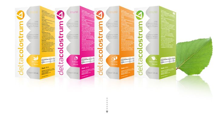 Packaging design and complete branding - Delta Colostrum - Delta Colostrum