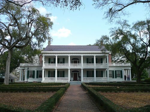 Louisiana Homes Southern Mansions Living Belle Plantations Plantation Houses Historic Arches