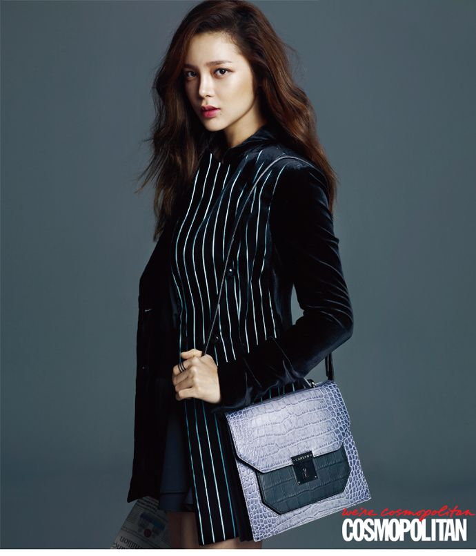 Park Si Yeon Is A Career Woman For Cosmopolitan Korea's November 2014 Issue   Couch Kimchi